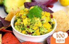 Фото рецепта: «Сальса с манго и авокадо»