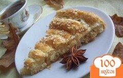 Фото рецепта: «Слоеный пирог с сыром»