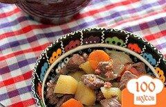 Фото рецепта: «Boeuf en daube - Говядина, тушенная в вине»