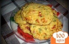 Фото рецепта: «Картофельно-сырные лепешки»
