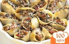 Фото рецепта: «Фаршированные макароны»