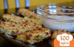 Фото рецепта: «Жаренные соленые огурцы»