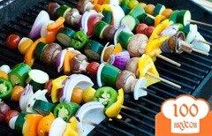 Фото рецепта: «Вегетарианский шашлык»