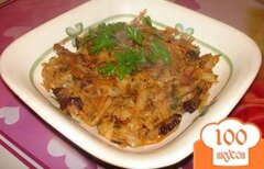 Фото рецепта: «Тушеная капуста с черносливом»