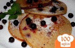 Фото рецепта: «Овсяные оладьи с ягодами»