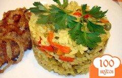Фото рецепта: «Рис карри с овощами»