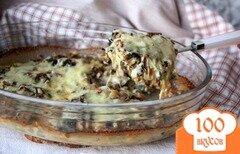 Фото рецепта: «Камбала, запечённая под грибной шапочкой»