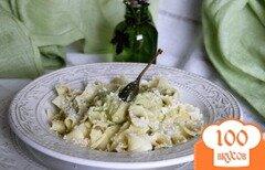 Фото рецепта: «Паста с соусом из авокадо»