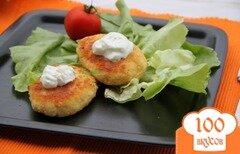 """Фото рецепта: «Картофельно-сырные котлеты """"Хрустящий завтрак""""»"""