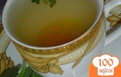 """Фото рецепта: «""""Чай с абрикосом,нектарином и мятой.""""»"""
