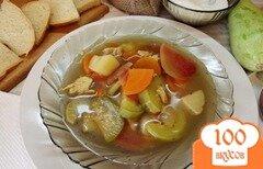 Фото рецепта: «Суп кабачковый»