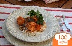 Фото рецепта: «Курица, запечённая в кисло-сладком соусе»