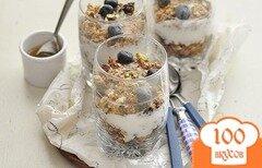 Фото рецепта: «Десерт с гранолой»