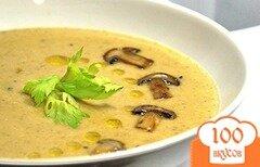 Фото рецепта: «Суп с сыром и грибами»