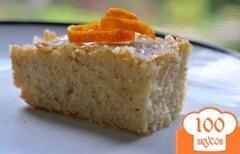 Фото рецепта: «Апельсиновый брауни»
