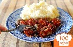 Фото рецепта: «Фрикадельки в соусе для шашлыка»