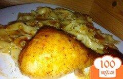 Фото рецепта: «Куриные ножки в медово-горчичном маринаде»