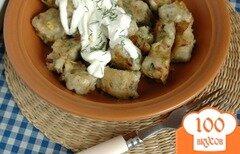 Фото рецепта: «Картофельные клецки с белыми грибами»