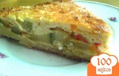 Фото рецепта: «Тарт с кабачками»