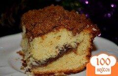 Фото рецепта: «Кекс со штрейзелем с корицей»