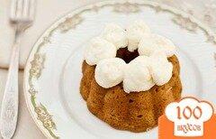 Фото рецепта: «Ромовые кексы с манго»