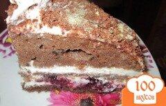 Фото рецепта: «Шварцвальдский вишневый торт»
