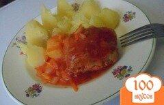 Фото рецепта: «Рыба в томатном соусе по - моему»