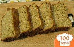 Фото рецепта: «Ржаной хлеб с медом на ряженке»