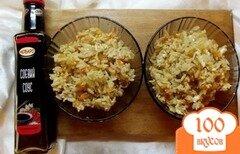 Фото рецепта: «Рис с соевым соусом и овощами»