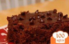 Фото рецепта: «Шоколадный пирог с цуккини»