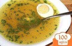 Фото рецепта: «Куриный суп для похудения»