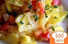 Фото рецепта: «Овощное рагу с пекинской капустой»