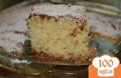 Фото рецепта: «Кофейный кекс с корицей»