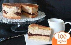 """Фото рецепта: «Торт """"Яблоко Евы""""»"""