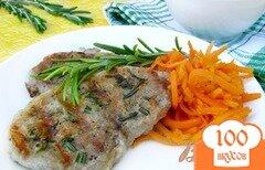 Фото рецепта: «Свинина с розмарином на гриле»