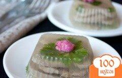 Фото рецепта: «Заливное из говяжьего языка»