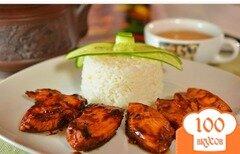 Фото рецепта: «Куриное филе в томатно-соевом соусе»