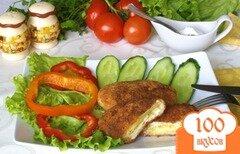 Фото рецепта: «Куриная котлета с сыром»