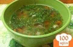 Фото рецепта: «Суп с белыми грибами и овощами»