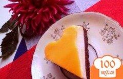 Фото рецепта: «Торт «Крем-карамель»»