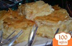 """Фото рецепта: «""""Галактобуреко"""" Греческий сладкий пирог»"""