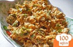 Фото рецепта: «Салат с сухариками и морковью»
