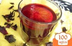 Фото рецепта: «Холодный чай с гибискусом»