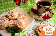 Фото рецепта: «Печенье творожное «Розочки»»