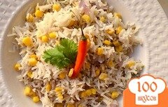 Фото рецепта: «Плов с кукурузой»