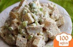Фото рецепта: «Креольский картофельный салат»