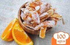 Фото рецепта: «Апельсиновые цукаты»