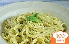 Фото рецепта: «Спагетти с сыром»