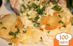 Фото рецепта: «Картофель Дофинуа»