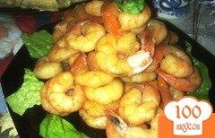 Фото рецепта: «Креветки фламбе»